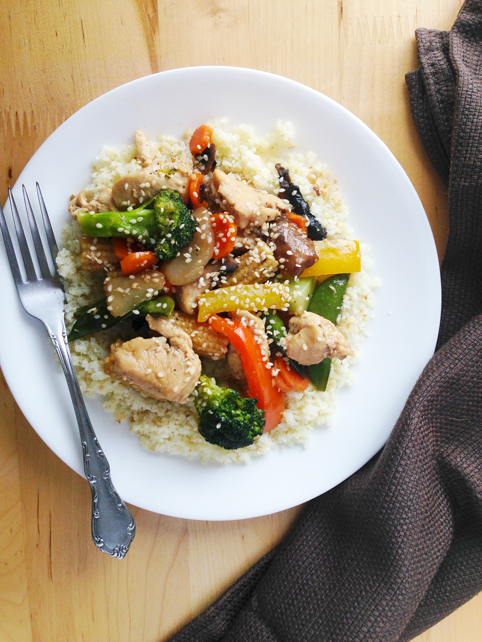 how to make stir fry sauce less salty